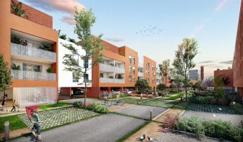 Roubaix programme immobilier rénové « L'Îlot Vert » en loi pinel