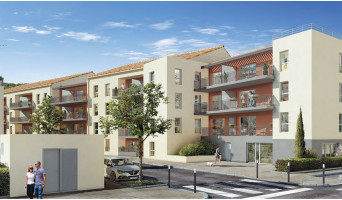 Saint-André-de-la-Roche programme immobilier neuve « Coeur Saint André » en Loi Pinel  (2)