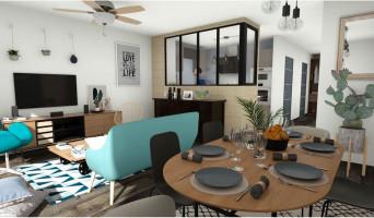 Artigues-près-Bordeaux programme immobilier neuve « Le Hameau de Techeney »  (3)
