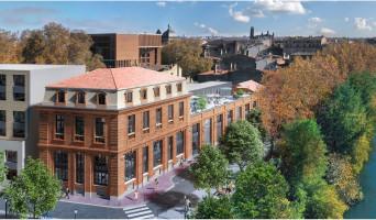 Toulouse programme immobilier neuve « Quai Saint-Pierre »  (2)