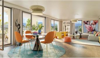 Annemasse programme immobilier neuve « Les balcons d'Orion » en Loi Pinel  (3)