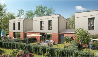 Seclin programme immobilier neuve « Les Villas du Riez »  (2)