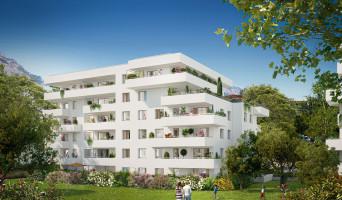 Meylan programme immobilier rénové « Le Domaine des Saules Blancs - Bât. K » en loi pinel