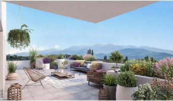 Meylan programme immobilier neuve « Le Domaine des Saules Blancs - Bât. K » en Loi Pinel  (2)