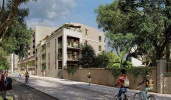 Nîmes programme immobilier rénové « Atrium » en loi pinel