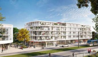 Le Bouscat programme immobilier rénové « Ceïba » en loi pinel