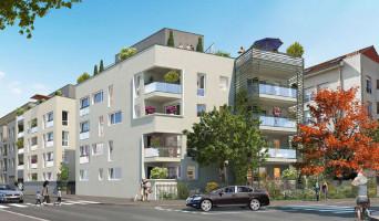 Vénissieux programme immobilier neuve « Côté 8ème Vénissieux » en Loi Pinel  (4)