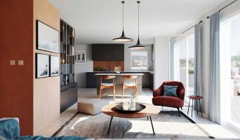 Vénissieux programme immobilier neuve « Côté 8ème Vénissieux » en Loi Pinel  (5)