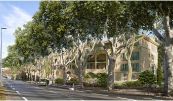 Aix-en-Provence programme immobilier neuve « Le Domaine des Arts » en Loi Pinel  (2)