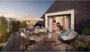 Saint-Avertin programme immobilier rénové « Terrasses du Petit Cher » en loi pinel