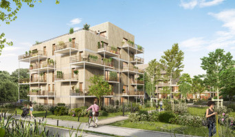 Amiens programme immobilier neuf « L'Archipel » en Loi Pinel