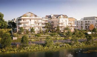 Saint-Jean-de-la-Ruelle programme immobilier neuf « Les Berges d'Houlippe - Contemplation » en Loi Pinel