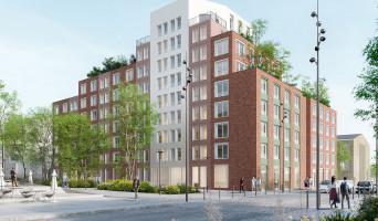 Villeneuve-d'Ascq programme immobilier neuf « Résidence Etudiante Le Wax »