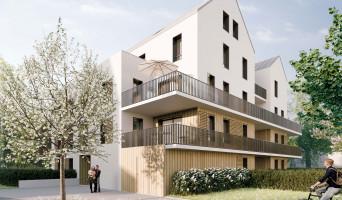 Bruyères-le-Châtel programme immobilier rénové « Aura » en loi pinel
