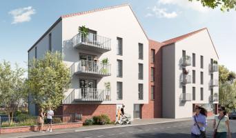 Wattrelos programme immobilier neuf « Fil Green » en Loi Pinel