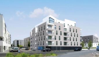 Caen programme immobilier neuf « Duéo » en Loi Pinel