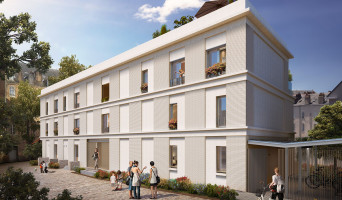 Nantes programme immobilier neuve « Baïa » en Loi Pinel
