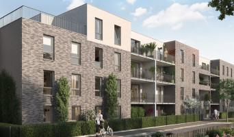 Amiens programme immobilier neuf « Triptyque 2 » en Loi Pinel