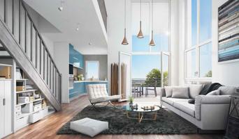 Louvres programme immobilier neuve « Villapollonia Quartier Gare »  (3)