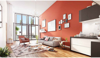 Louvres programme immobilier neuve « Villapollonia Quartier Gare »  (4)