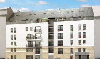 Nantes programme immobilier neuve « Le Cours Félibien » en Loi Pinel  (2)