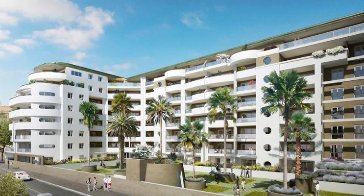 Marseille programme immobilier neuf « Le Patio des Chartreux » en Loi Pinel