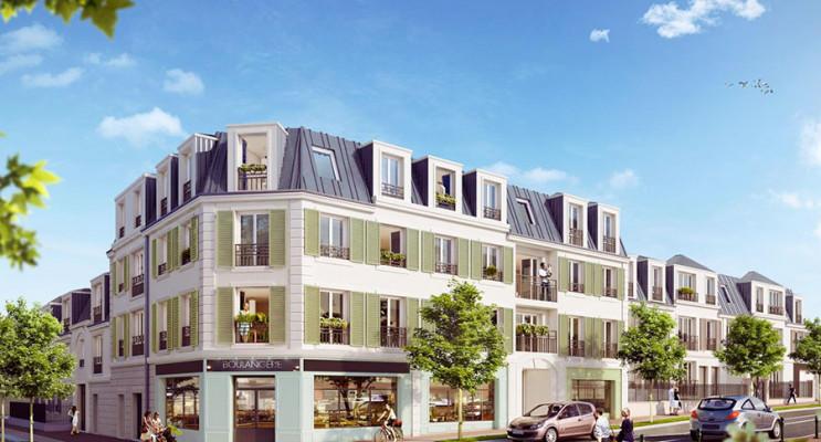Montgeron programme immobilier neuf « Le Carré Concy » en Loi Pinel