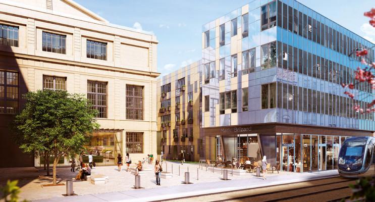Bordeaux programme immobilier neuf « Palais Gallien Fondaudège » en Loi Pinel