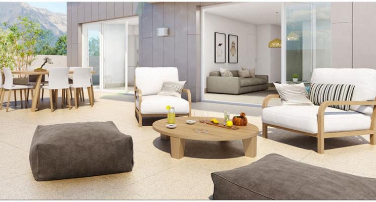 Grenoble programme immobilier neuf « Les Ateliers » en Loi Pinel