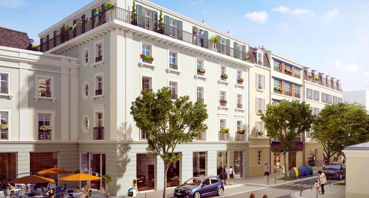 Pontoise programme immobilier neuf « Loiseau » en Loi Pinel