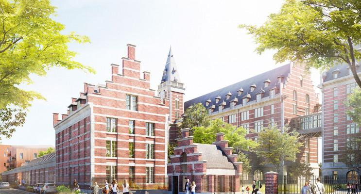 Marquette-lez-Lille programme immobilier à rénover « Les Grands Moulins » en Monument Historique
