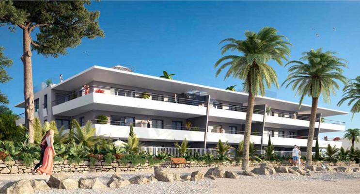 Villeneuve-Loubet programme immobilier neuf « Pearl Beach » en Loi Pinel