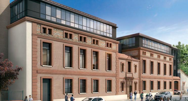 Toulouse programme immobilier neuf « Campus Saint-Michel »