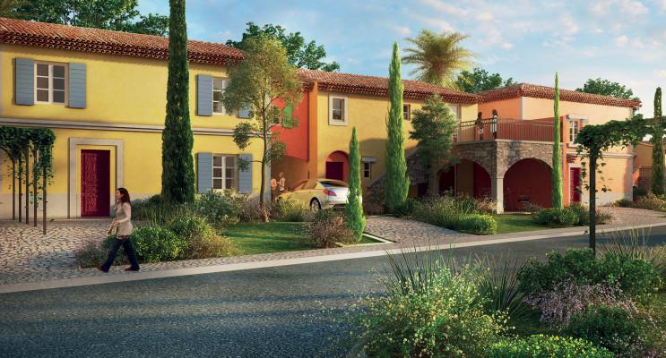 Grimaud programme immobilier neuf « Les Jardins d'Adélaïde » en Loi Pinel
