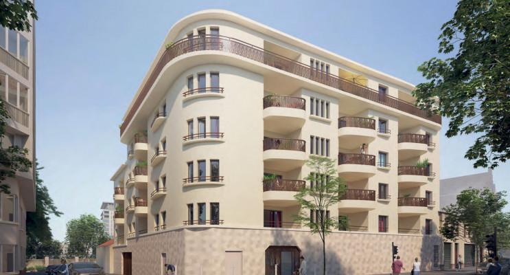 Toulon programme immobilier neuf « Les Balcons de Saint-Jean » en Loi Pinel
