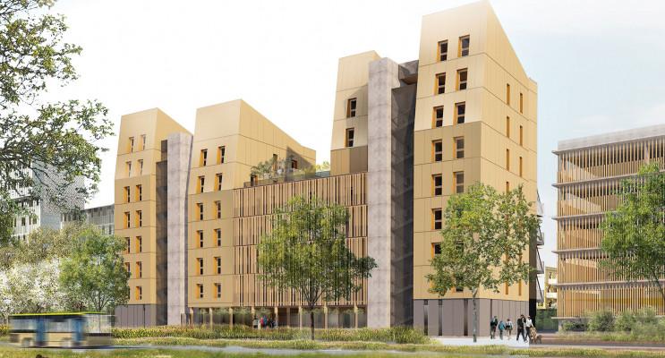 Strasbourg programme immobilier neuf « Greenwood » en Loi Pinel