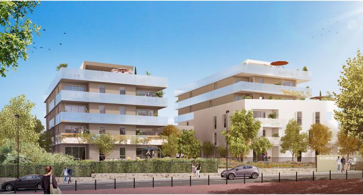 Marseille programme immobilier neuf « Le 413 » en Loi Pinel