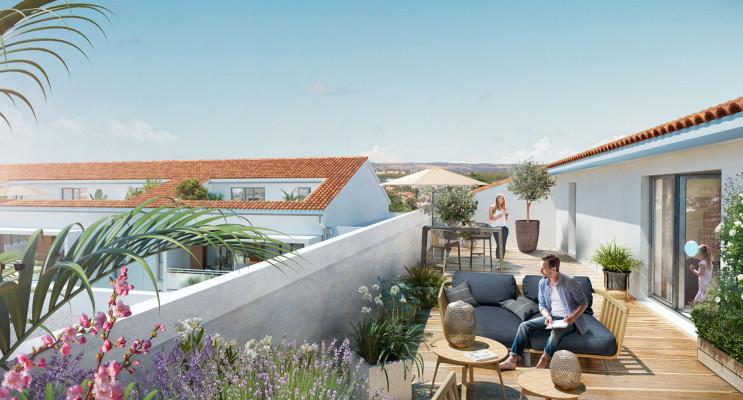 Toulouse programme immobilier neuf « Les Jardins de Joséphine » en Loi Pinel