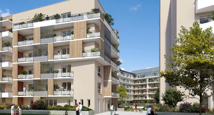 Rouen programme immobilier neuf « Carré Flora » en Loi Pinel