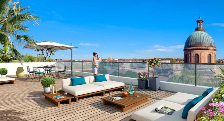 Toulouse programme immobilier neuf « Cour du Dôme » en Loi Pinel