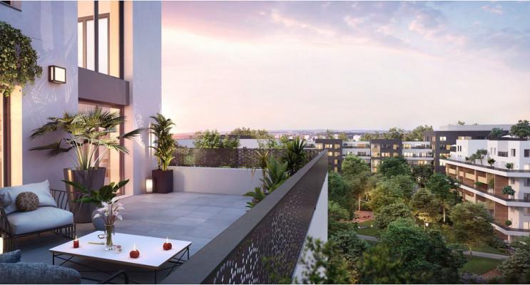 Cergy programme immobilier neuf « Ville Nature » en Loi Pinel