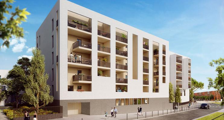 Montpellier programme immobilier neuf « Infinitë » en Loi Pinel