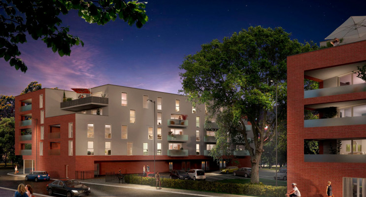 Ronchin programme immobilier neuf « Villa renaissance » en Loi Pinel