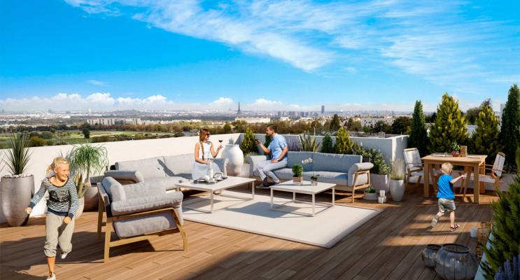 Garches programme immobilier neuf « Villa Temporel » en Loi Pinel