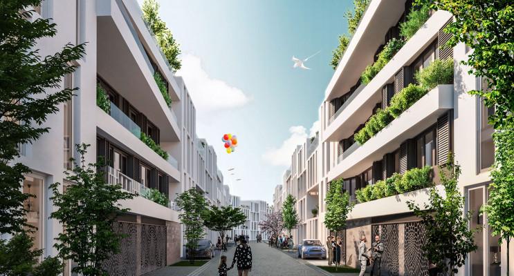 Bordeaux programme immobilier neuf « Be Chartrons » en Loi Pinel