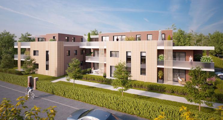 Mont-Saint-Aignan programme immobilier neuf « Les Terrasses du Golf » en Loi Pinel