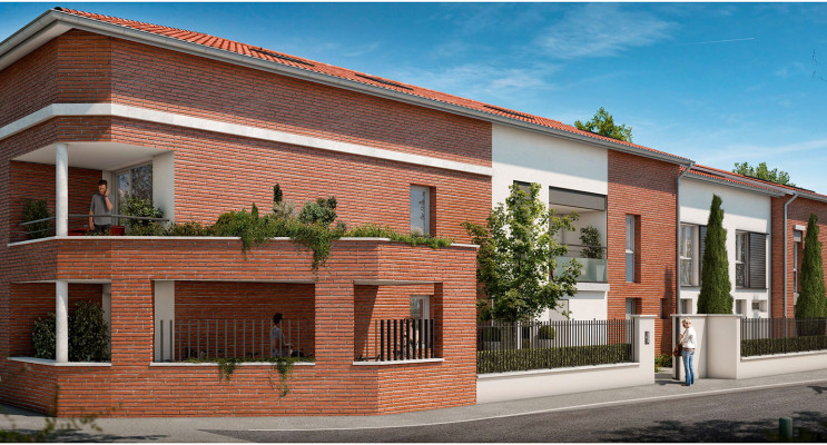 Toulouse programme immobilier neuf « Tempo Verde » en Loi Pinel