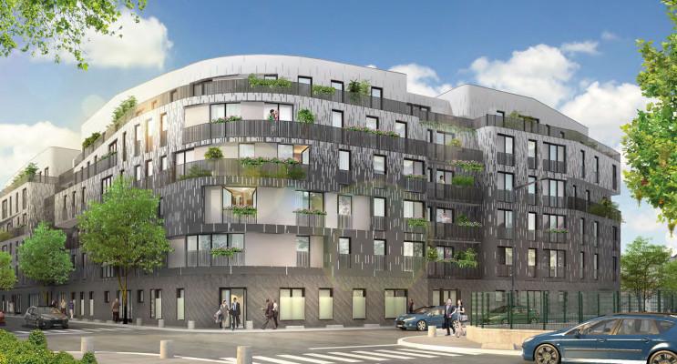 Aubervilliers programme immobilier neuf « Métropolitan » en Loi Pinel