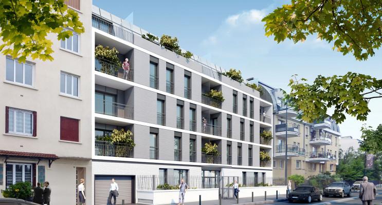 Alfortville programme immobilier neuf « Reflet en Seine » en Loi Pinel