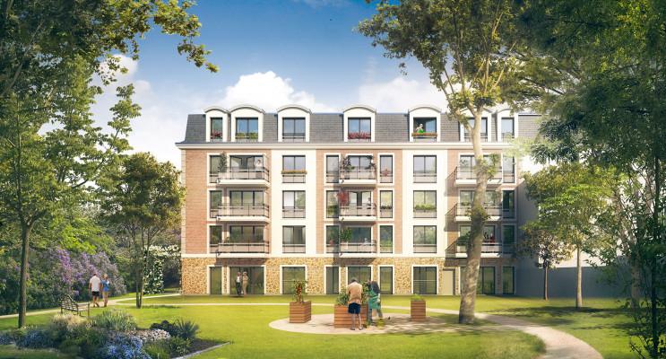 Mantes-la-Jolie programme immobilier neuf « Les Senioriales de Mantes-la-Jolie » en Loi Pinel